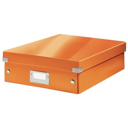 Fiberpapkartotek Click&Store WOW orange medium