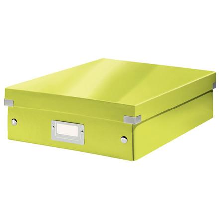 Fiberpapkartotek Click&Store WOW grøn medium