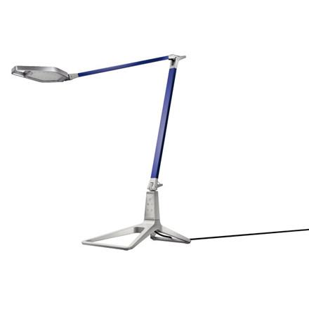 Bordlampe Leitz Smart LED Style titan blå