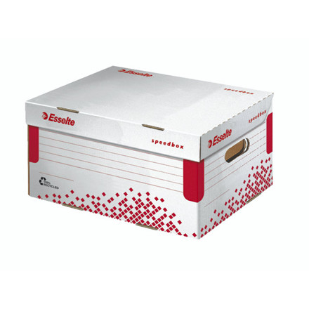 Arkivæske Esselte Speedbox 355x193x252mm