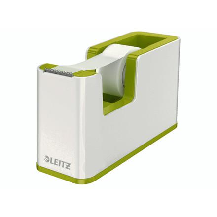 Tapedispenser Leitz WOW grøn incl 1 rulle tape
