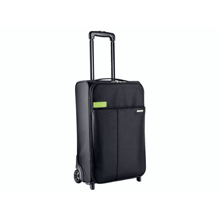 Trolley taske Leitz Complete 2-hjuls sort m/lås carry-on
