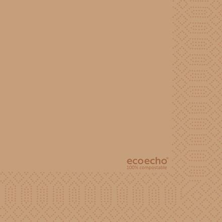 4 pakker Serviet Dunisoft Eco Eco 1/8 fold 33x33cm 2-lags 30