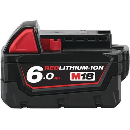 Batteri M18 B6 18V 6,0Ah Red Lithium Ion