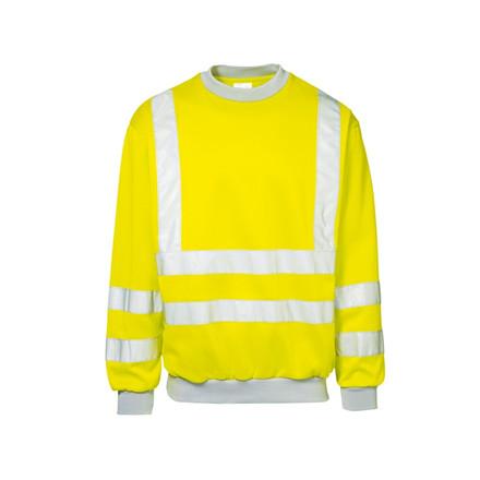 Sweatshirt Sikkerhed 3Xl Gul
