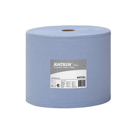 Katrin Plus L 2 Rl, 447226 Blå Aftørring