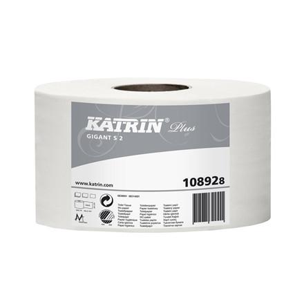 KATRIN PLUS S 12 RL, 108925 TOILETPAPIR