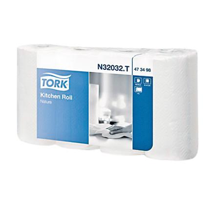 Køkkenrulle Tork Plus 2-lags 20 rl N32032