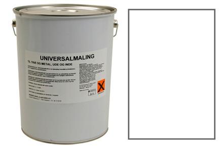 UNIVERSALMALING- HVID '10 L