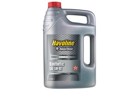 MOTOROLIE HAVOLINE SYN 5W-40 5 LITER