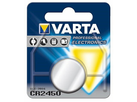BATTERI ELECTRONIC VARTA CR2450 3V 560 M
