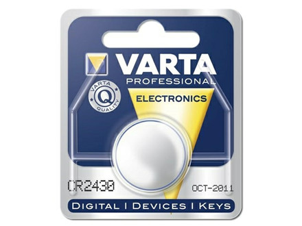 BATTERI ELECTRONIC VARTA CR2430 3V 280MA