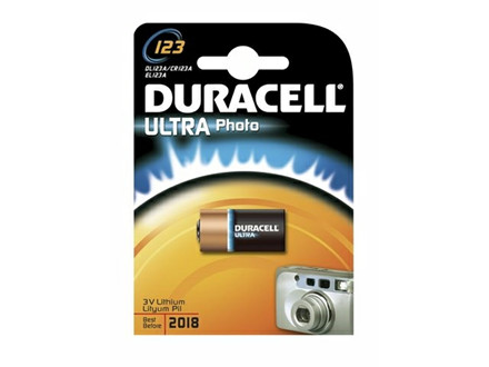 BATTERI DURACELL ULTRA PHOTO 123 1STK/PA