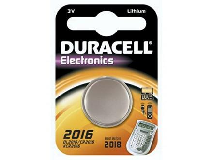 Batteri Duracell Electronics 2016 1stk/pak DL2016 / CR2016 /