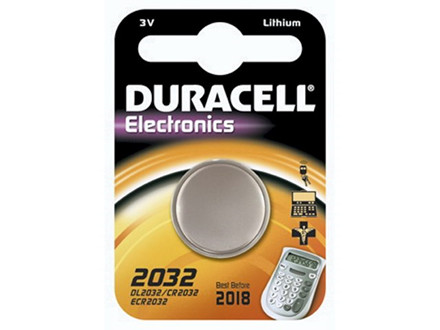 Batteri Duracell Electronics 2032 1stk/pak DL2032 / CR2032 /