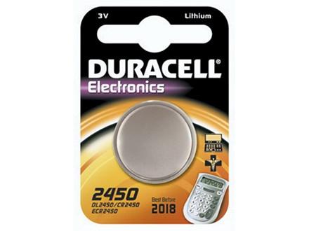 Batteri Duracell Electronics 2450 1stk/pak DL2450 / CR2450 /