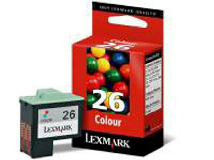 BLÆKPATRON LEXMARK 10N0026E COLOR HC NO.