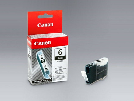 BLÆKPATRON CANON BCI-6-BK SORT REFILL TI