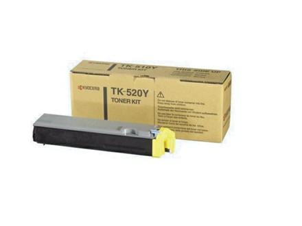 LASERTONER KYOCERA TK520Y FS-C 5015/FS-C