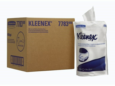 DESINFEKTIONSKLUDE KLEENEX 6PAKX100ARK/K