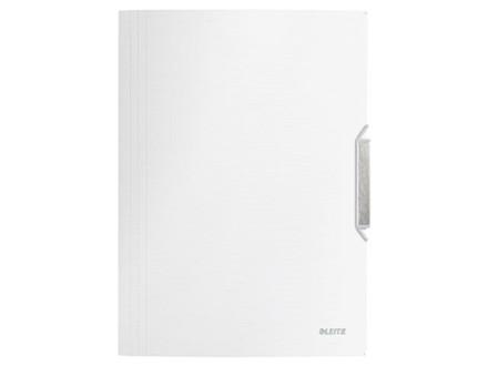 10 stk Elastikmappe PP Leitz Style A4 3-klap hvid