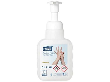 12 Stk Hånddesinfektion Tork skum S4 400ml 12stk/pak 511104
