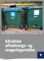 Alkaliske affedtnings- og rengøringsmidler