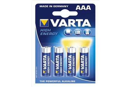 Varta High Energi batterier