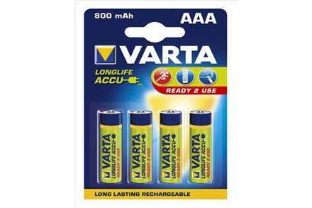 Varta genopladelige batterier Longlife
