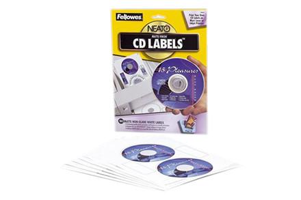 Fellowes CD labels