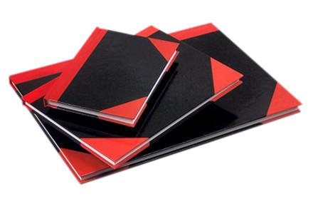 Kina Notes m/røde hjørner