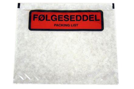 Polylommer og packing list
