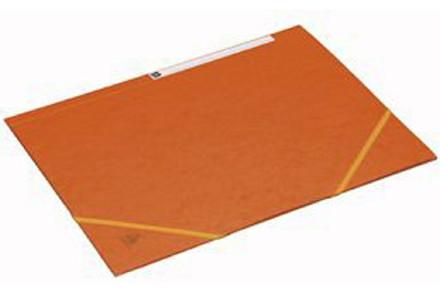 Kartonmapper m/elastik Bantex