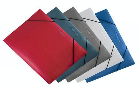 Plastmapper m/elastik Office Depot