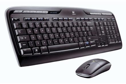 Logitech tastatur + mus sæt