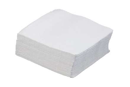 Servietter 1-lags hvide
