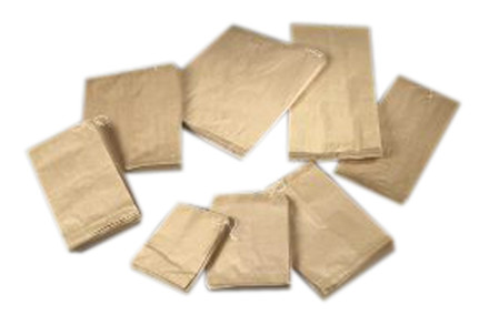 Papirposer brune m/snorophæng