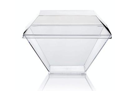 Eksklusive glasklare plastglas