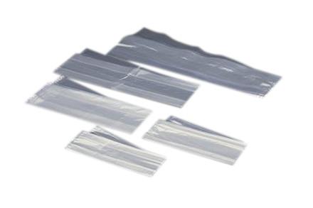 Plastposer klare sidefalsede