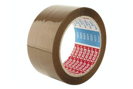 Emballagetape PP brun