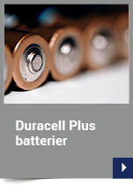 Duracell Plus batterier