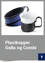 Plastkopper Galla og Combi