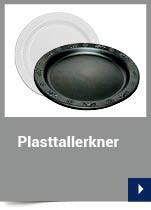 Plasttallerkner