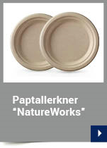 "Paptallerkner ""NatureWorks"""