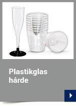 Plastikglas hårde