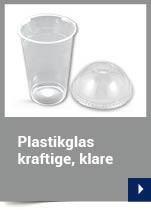 Plastikglas kraftige, klare