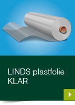LINDS Plastfolie Klar
