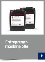 Entreprenørmaskine olie