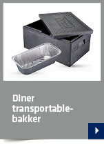 Diner transportable-bakker
