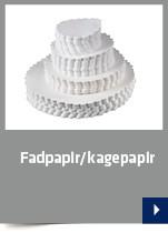 Fadpapir/kagepapir